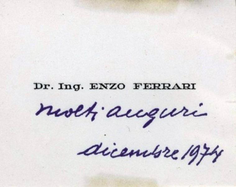 Enzo Ferrari inchiostro viola ilferraristablog