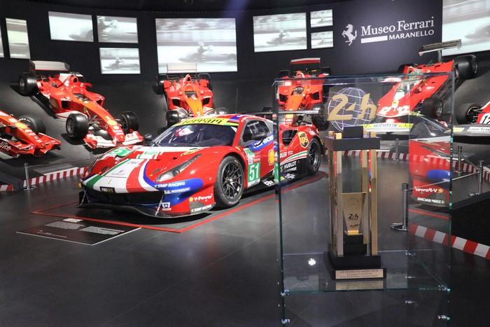 Ferrari: mostra Gte Le Mans